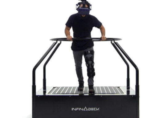 The treadmill from Ready Player One is coming to our homes soon